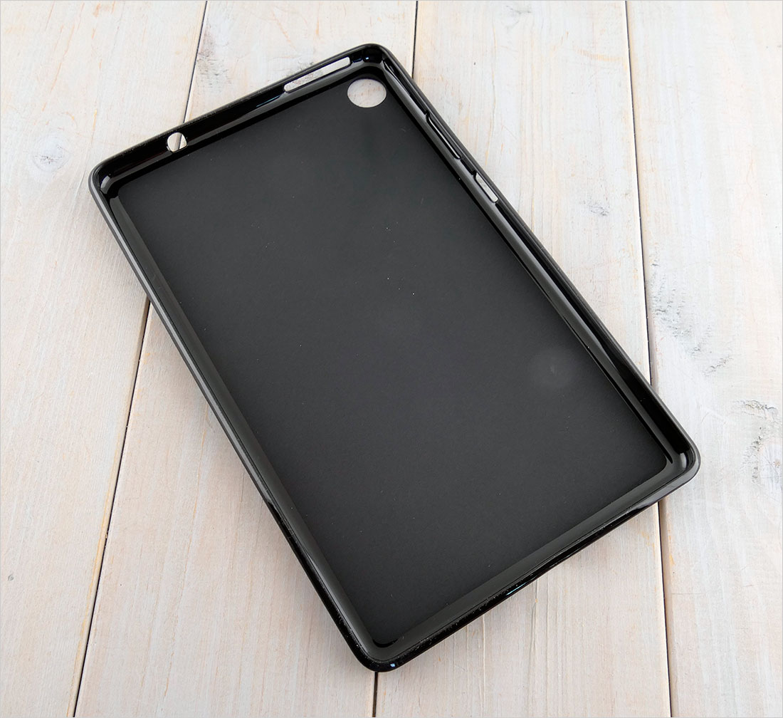 CZARNE silikonowe etui do tabletu Lenovo Tab M8 TB-8505F/X