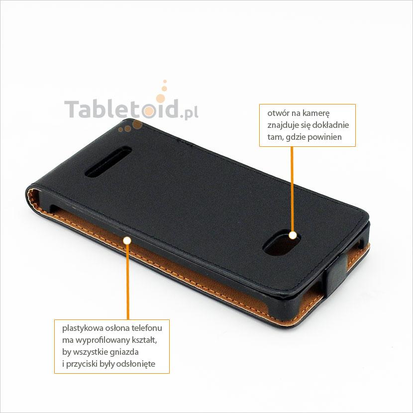 Praktyczne i eleganckie etui do telefonu HTC Windows Phone 8S