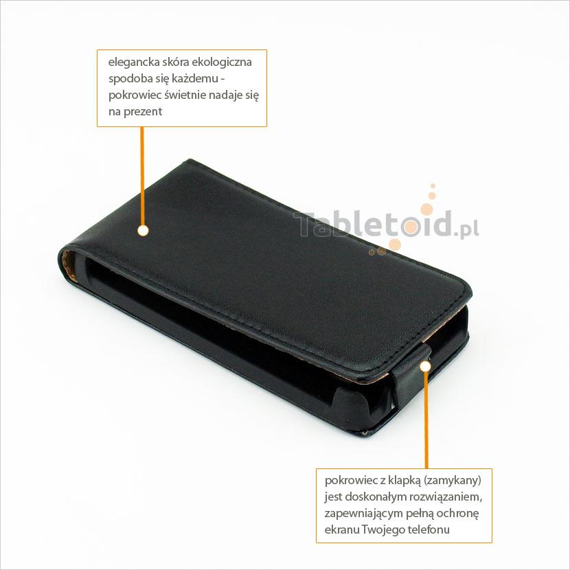 Eleganckie etui do telefonu Huawei Ascend Y300