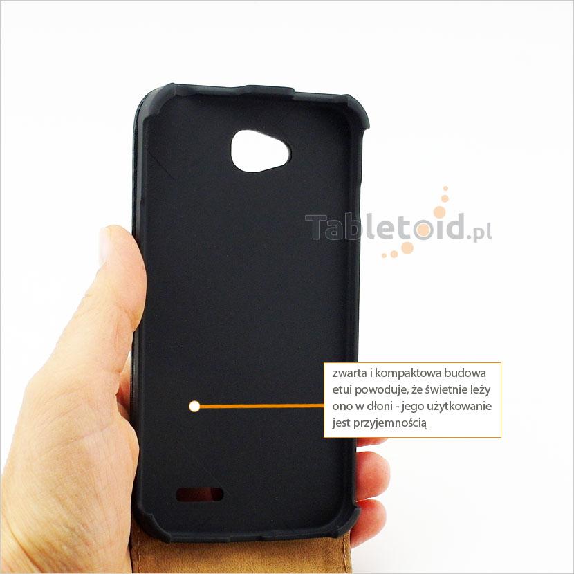 Pokrowiec idealnie dopasowany do telefonu LG L90 Dual D410
