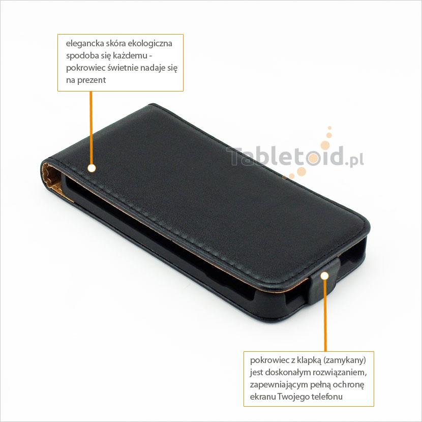 Praktyczny futerał do telefonu LG L90 Dual D410