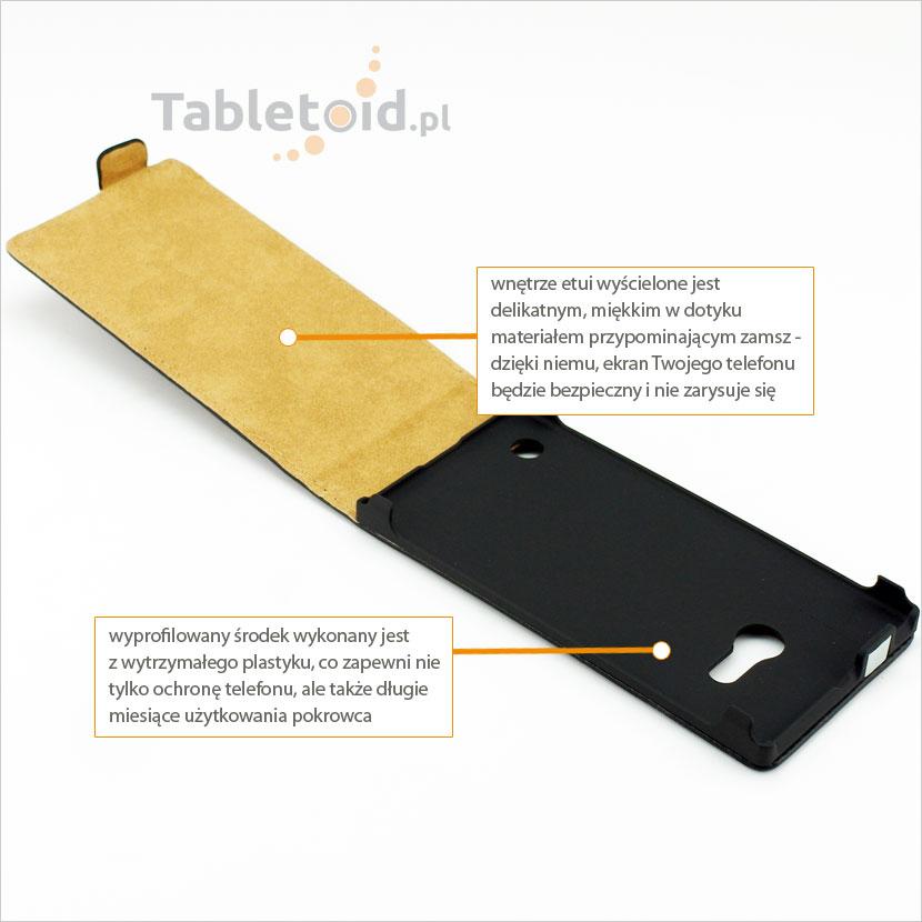 Kabura dedykowana do telefonu Nokia Lumia 730-735