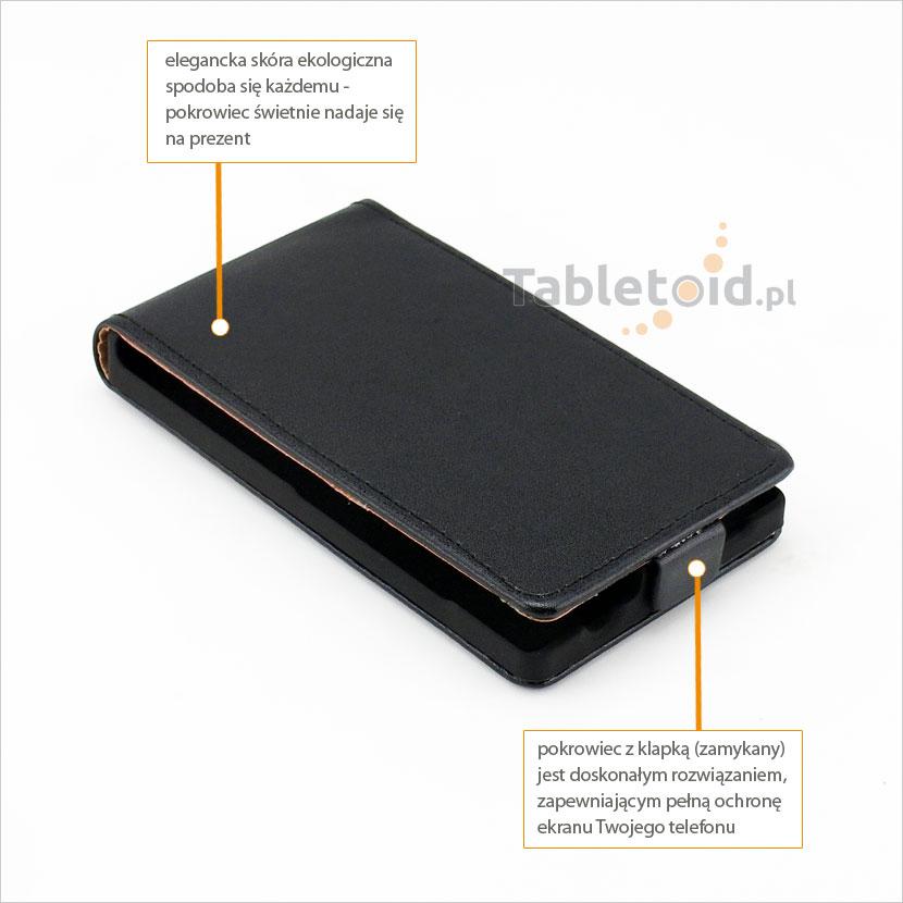 Elegancki pokrowiec do telefonu Nokia X2