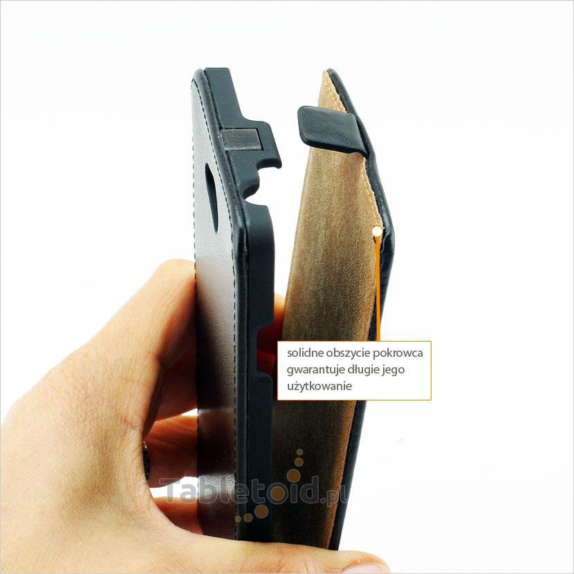 Praktyczne i funkcjonalne zapięcie pokrowca na zatrzask magnetyczny