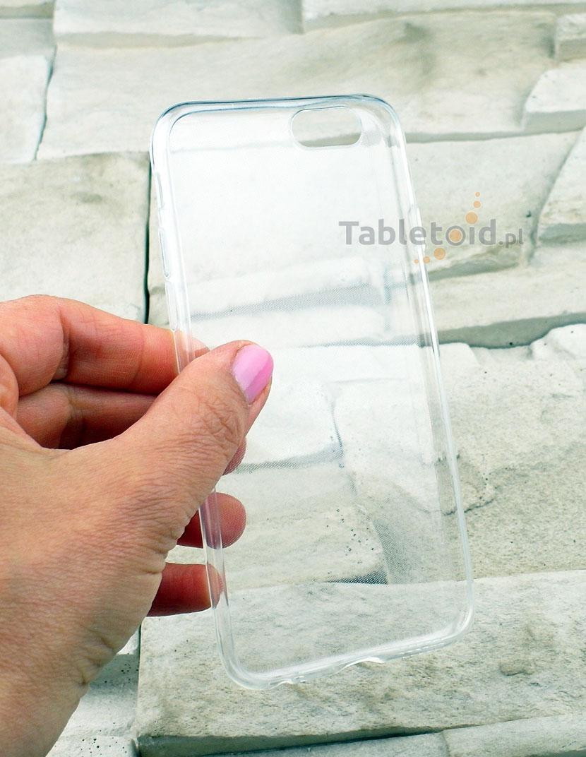 przezroczyste plecki na iPhone 6