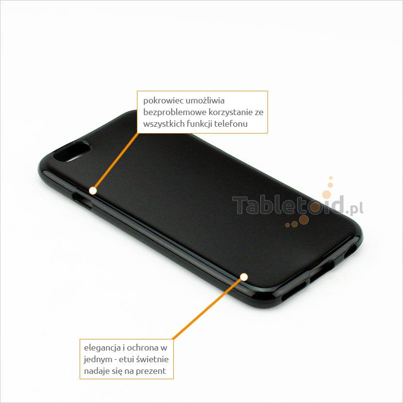 silikonowe plecki do iPhone 6