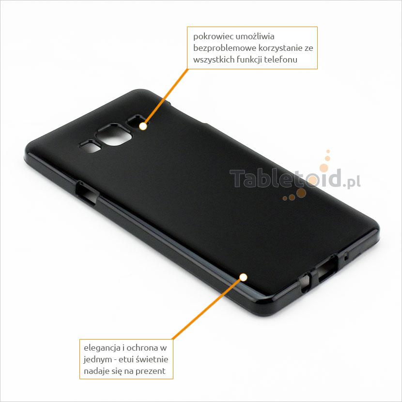 silikonowe plecki do Samsung Galaxy A 7