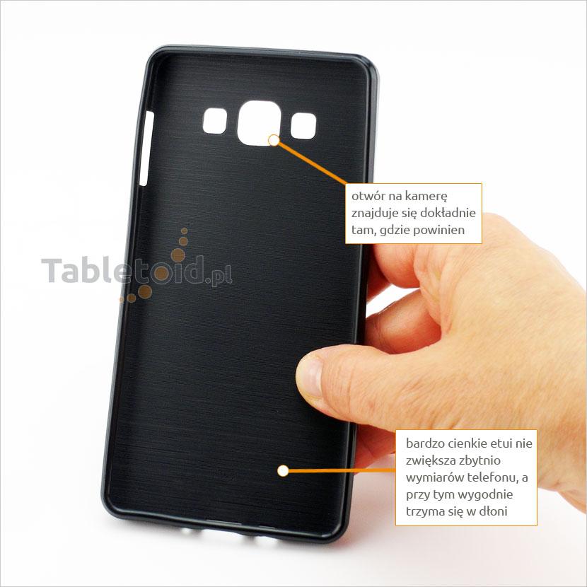 tylna ścianka etui do Samsung Galaxy A 7