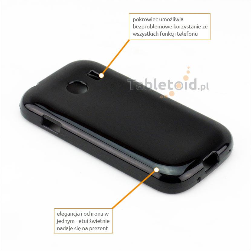 silikonowe plecki do Samsung Galaxy Ace Style G 310