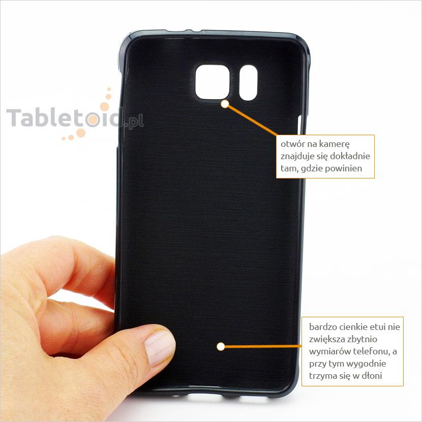 tylna ścianka etui do Samsung Galaxy Alpha G850