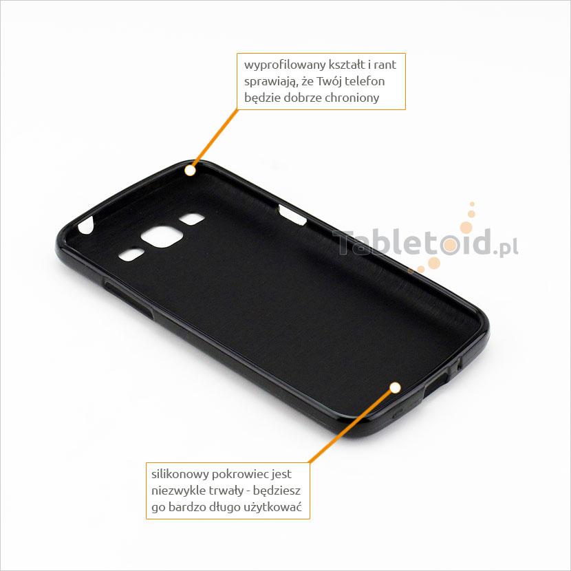 silikonowe plecki do Samsung G 7102 Grand 2