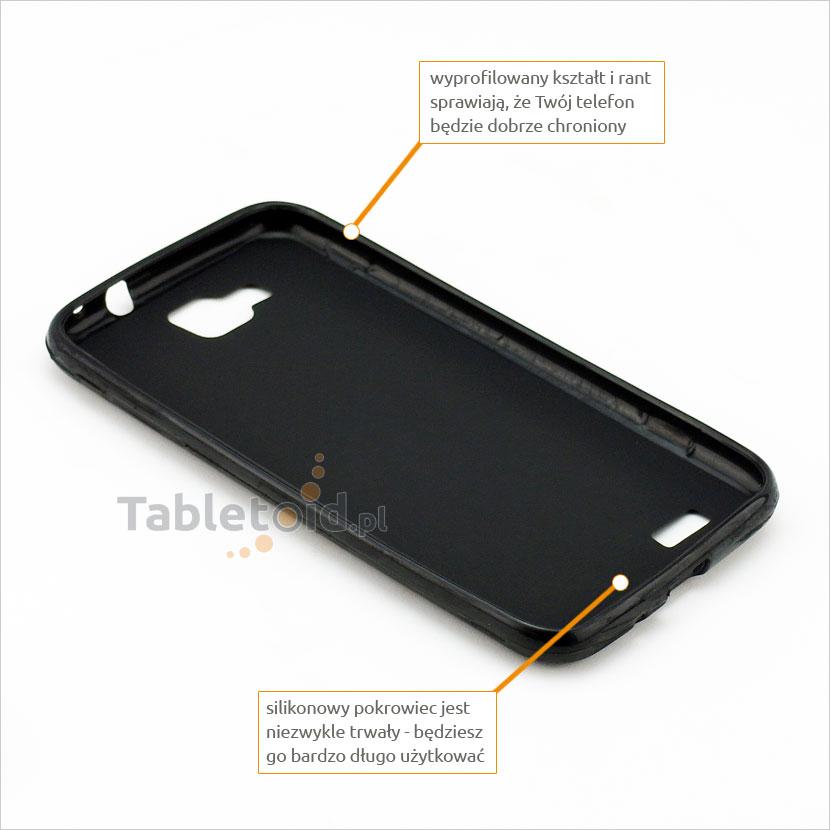 przyciski silikonowe w etui do Samsung i8750 Ativ S