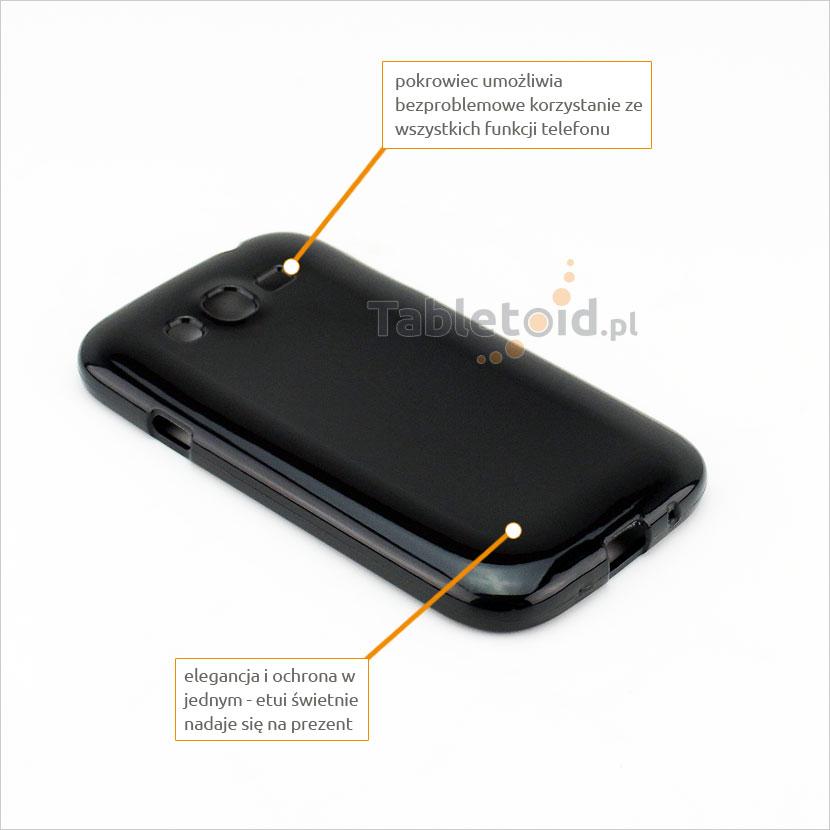 silikonowe plecki do Samsung Galaxy i9060 / i9080