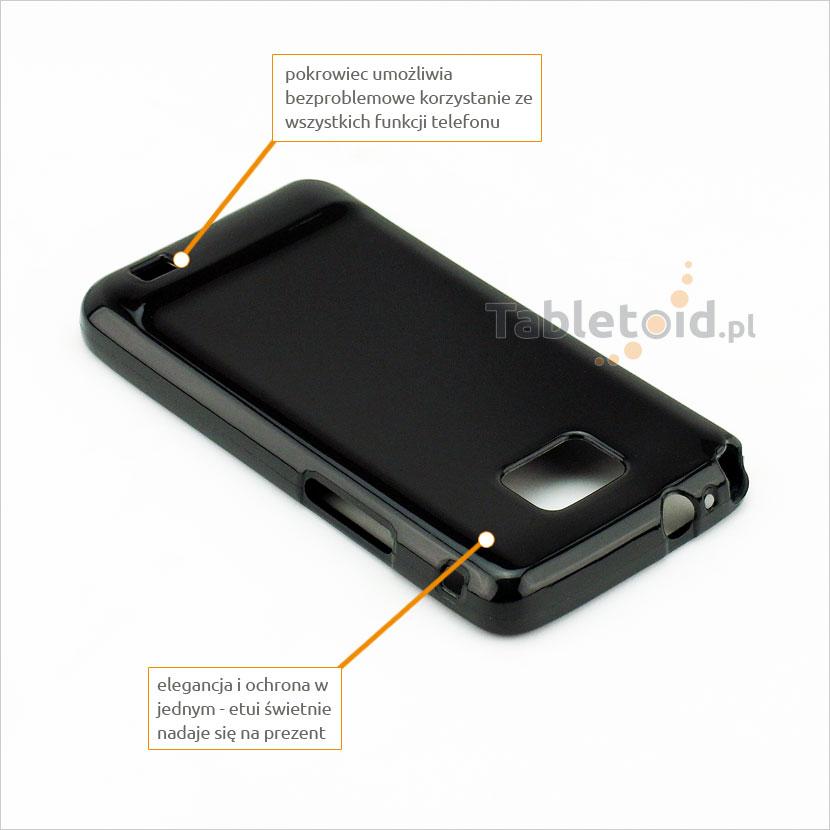 silikonowe plecki do Samsung i9100 S 2