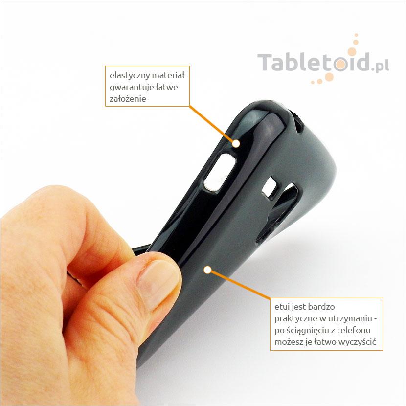 Elastyczne i praktyczne oraz łatwe w utrzymaniu czystości etui na telefon dotykowy