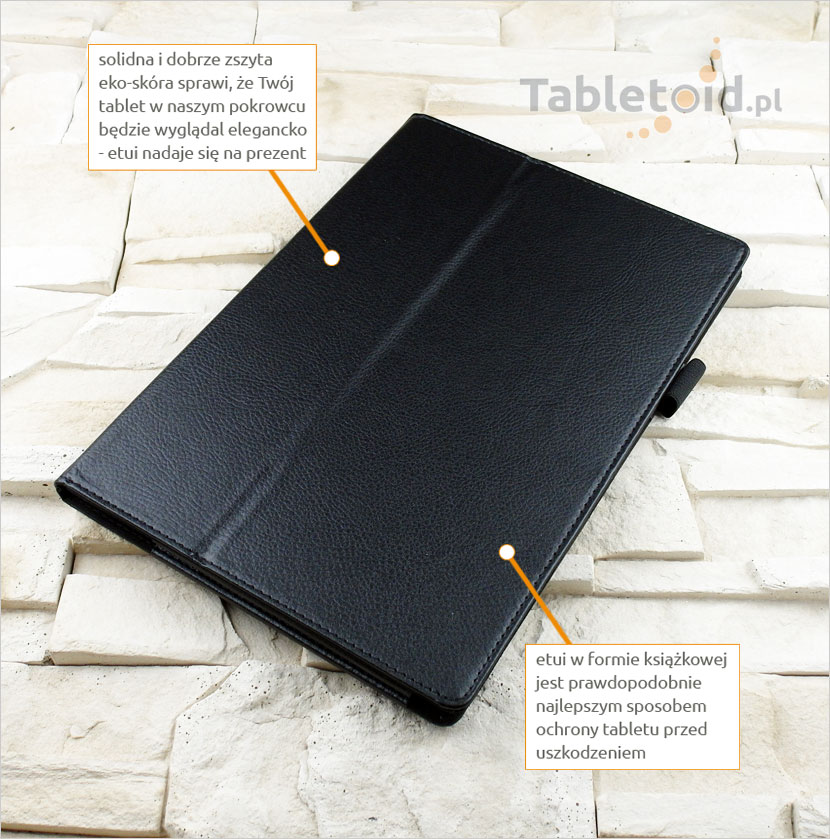 CZARNE etui do tabletu Acer Iconia Tab 10 A3-A30