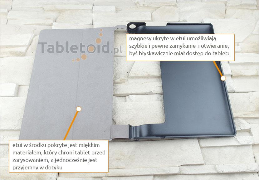 dedykowane etui na tablet Lenovo Yoga 10 X50F