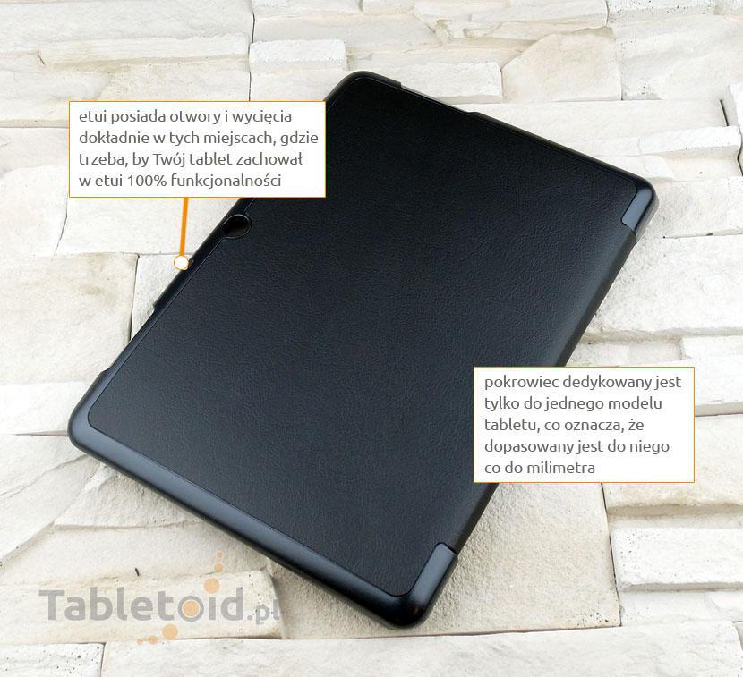 pokrowiec na tablet z ekoskóry Acer B3- A10