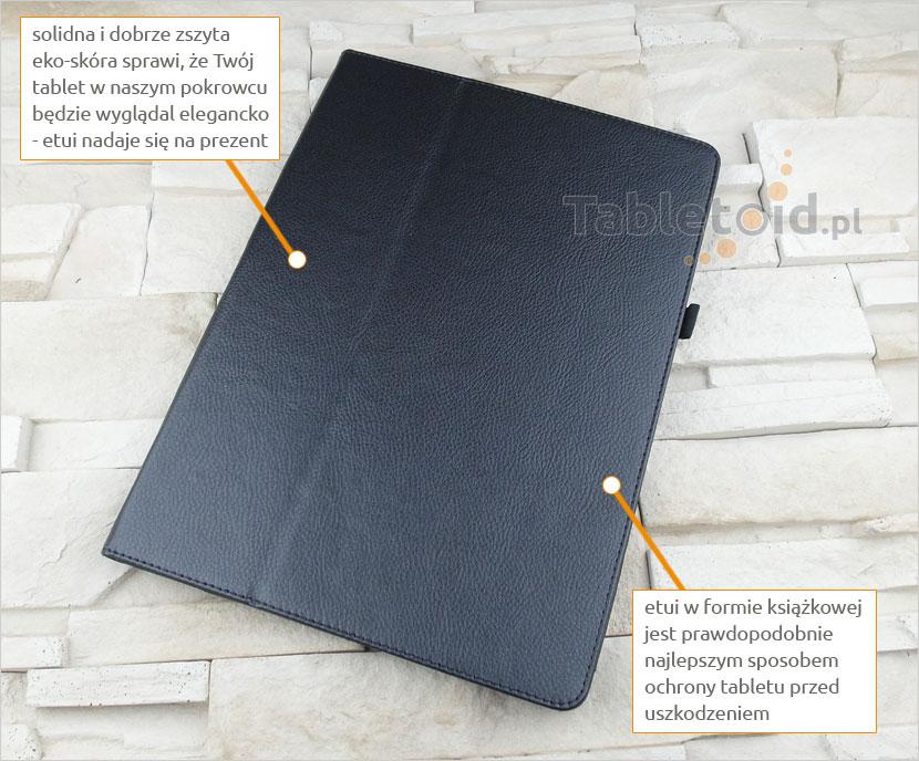 pokrowiec na tablet z ekoskóry iPad Pro
