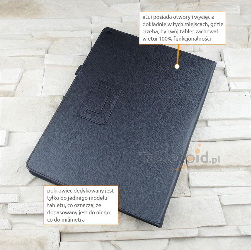 etui na tablet z podstawką iPad Pro