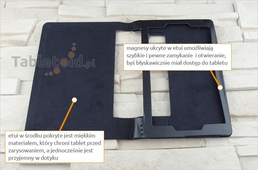 dedykowane etui na tablet Lenovo Yoga Tab 3 850F