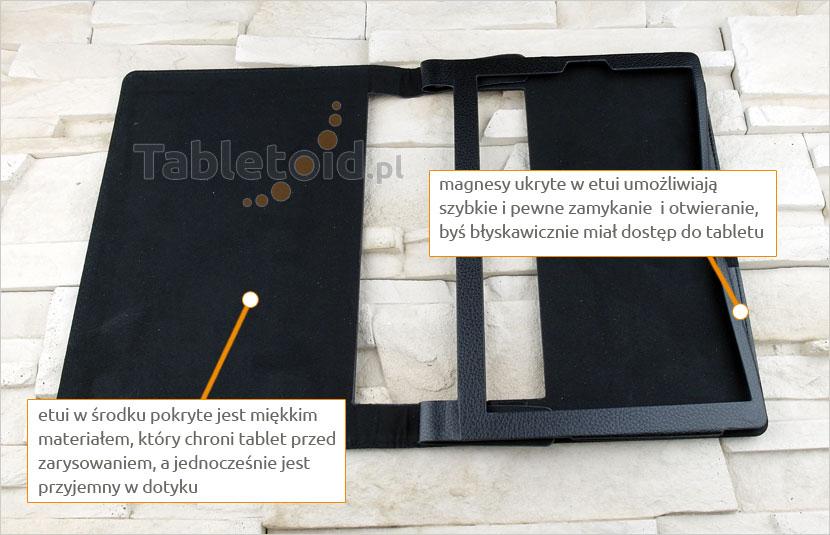dedykowane etui na tablet Lenovo Yoga 3 10 Pro X90F