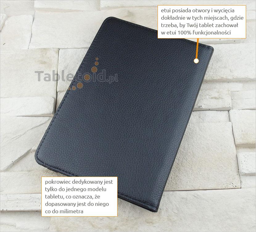 pokrowiec na tablet z ekoskóry Xiaomi MiPad 2