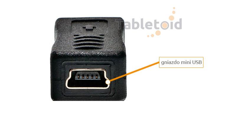 adapter sygnałowy: gniazdo mini USB - wtyk micro USB