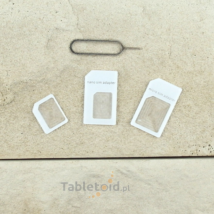 adapter karty micro SIM do tabletu