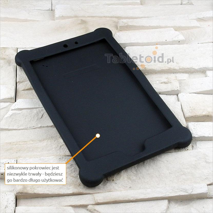 przyciski silikonowe w etui do tabletu