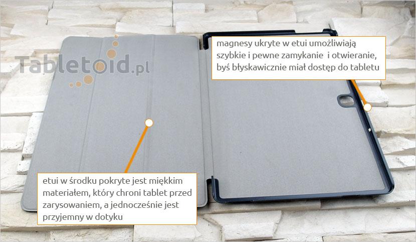 Obracane etui do tabletu Samsung Galaxy Tab Pro S 12 cali