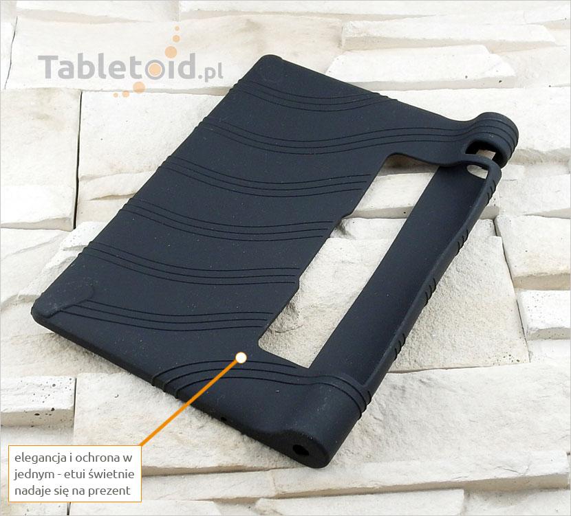 gumowe etui na tablet Lenovo Yoga Tab 3 850F