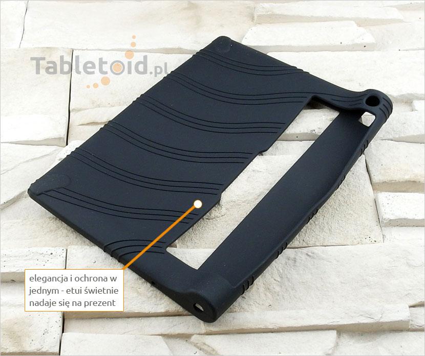 gumowe etui na tablet  Lenovo Yoga Tab 2 830F 830L