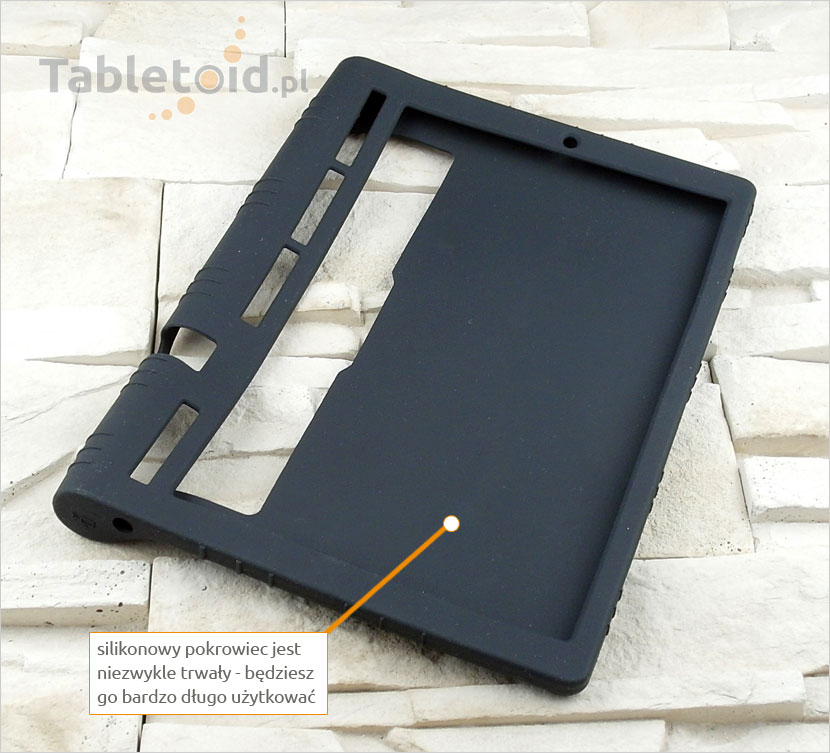gumowe etui na tablet  Lenovo Yoga Tab 3 Pro 10 X90