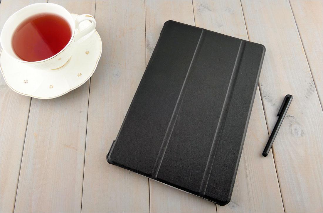 CZARNE dedykowane zamykane (książkowe) etui do tabletu Samsung Galaxy Tab S4 10.5 T830 / T835 2018