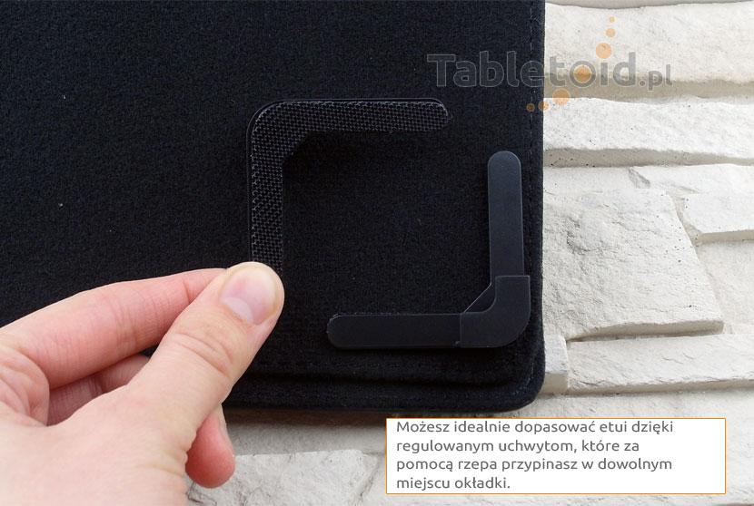 regulowane uchwyty pokrowca do tabletów 9,7 cali