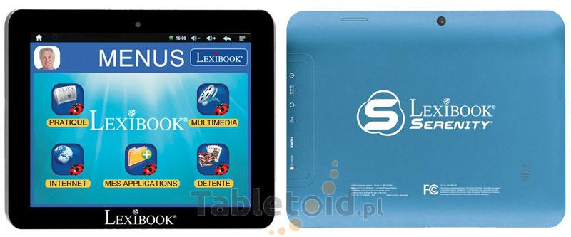 Tablet dla osób starszych - Lexibook Serenity Ultra