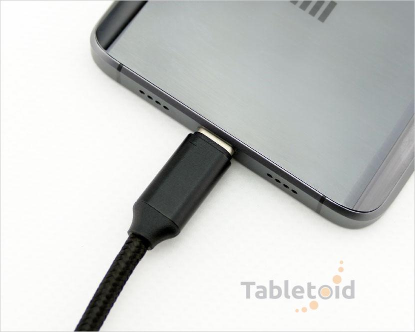 Kabel PREMIUM: wtyk USB 2.0 - wtyk micro USB-C - wysoka jakość