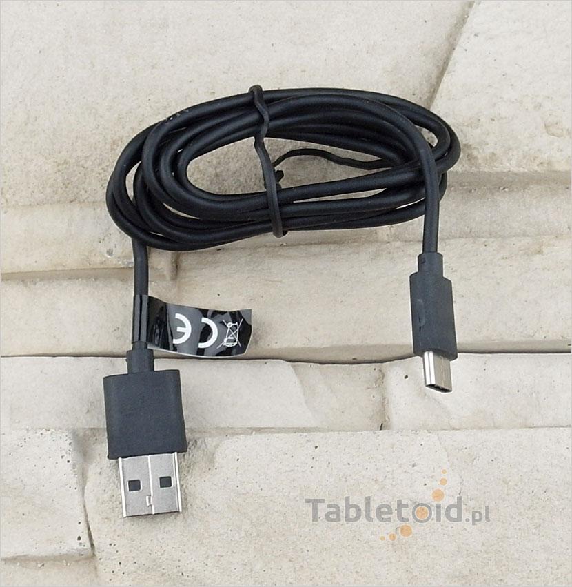 Kabel ładowanie tabletu: typu USB-C do zwykłego USB – do tabletu