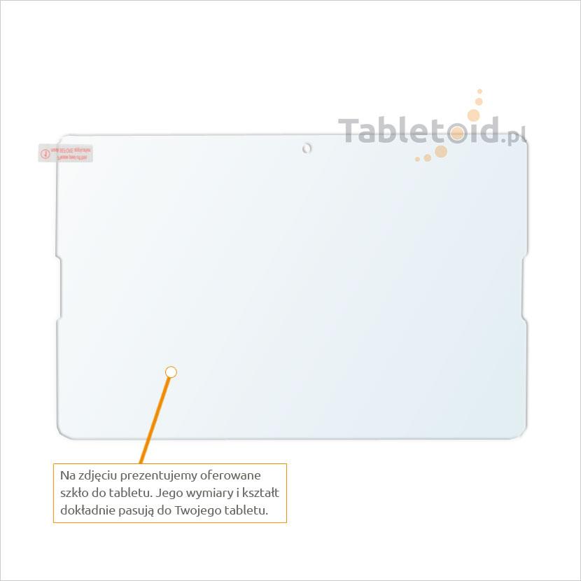 Dedykowane szkło hartowane (glass) na tablet Acer Iconia One 10 B3-A20
