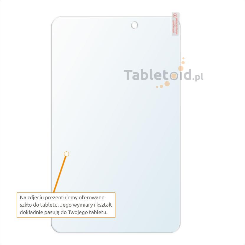 Dedykowane szkło hartowane (tempered glass) na tablet Acer Iconia Tab 8 cali A1-840