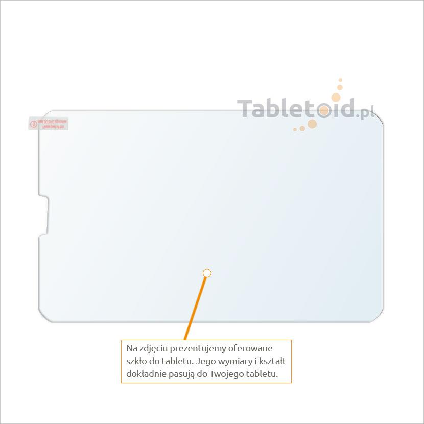 Dedykowane szkło hartowane (glass) na tablet Lenovo IdeaTab A3000 - A5000