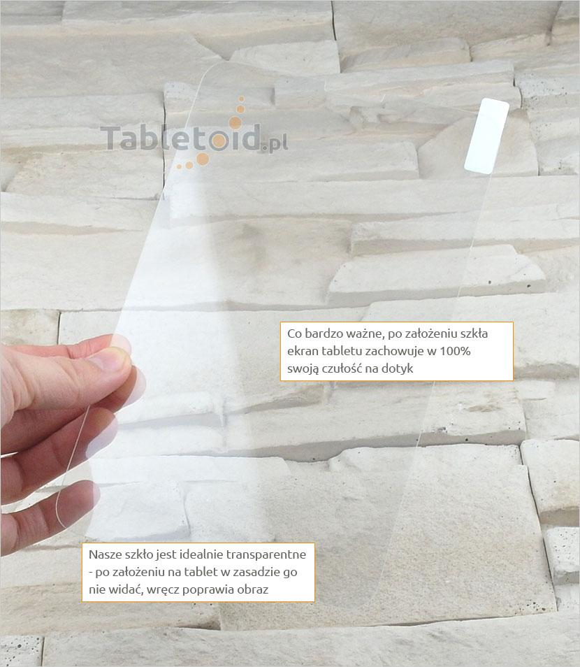 Szkło hartowane w dłoni - Lenovo IdeaTab A3000 - A5000
