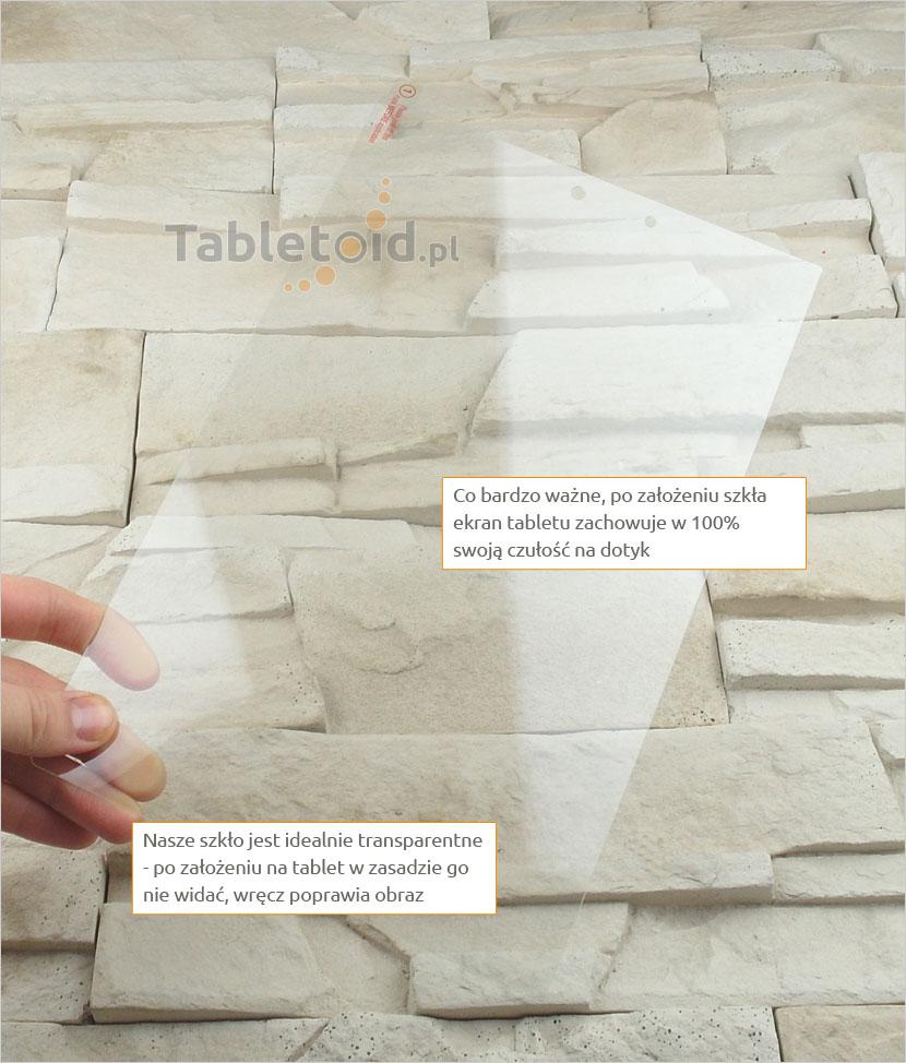 Szkło hartowane w dłoniach - Lenovo Yoga 2 1050F