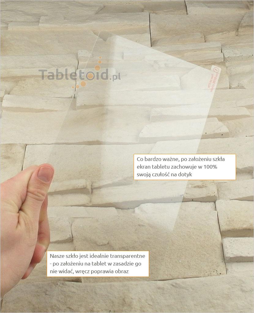 Szkło hartowane w dłoniach - Lenovo Yoga Tab 3 8 850