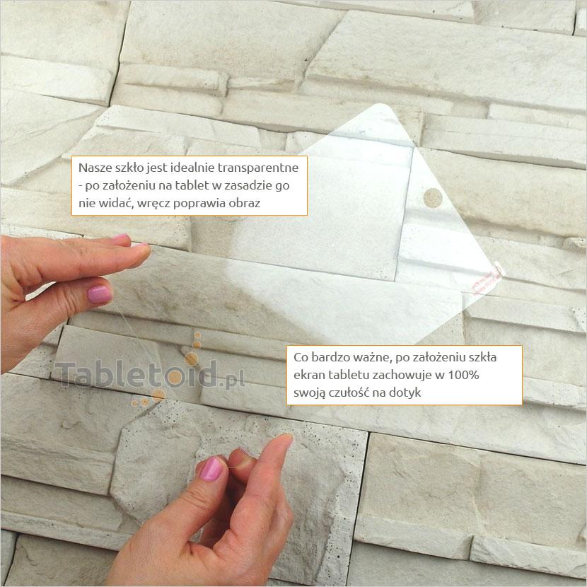 Dedykowane szkło hartowane (tempered glass) na tablet Onda V818 Mini