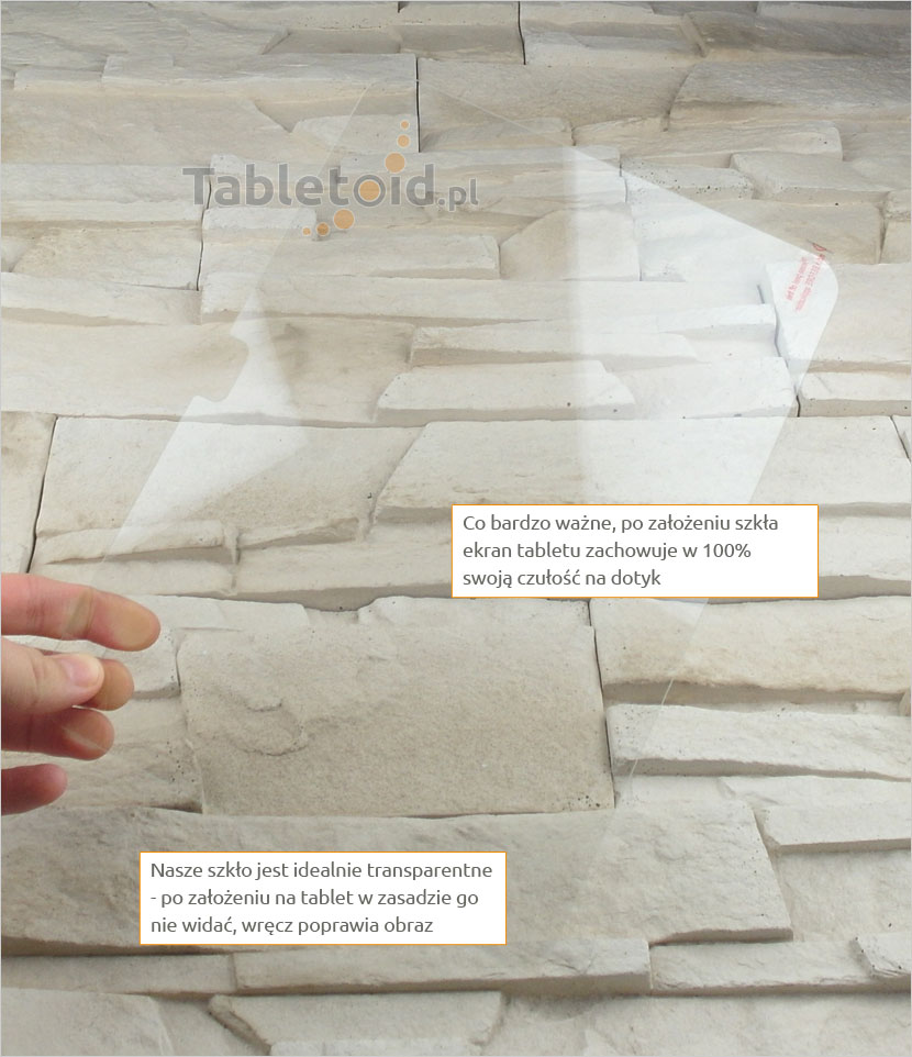 Szkło hartowane w dłoniach - Samsung GALAXY Tab 4 10.1