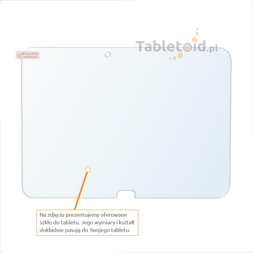Dedykowane szkło hartowane (glass) na tablet Samsung GALAXY Tab 4 10.1