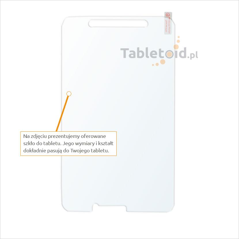 Dedykowane szkło hartowane (tempered glass) na tablet Samsung Galaxy Tab Active T360