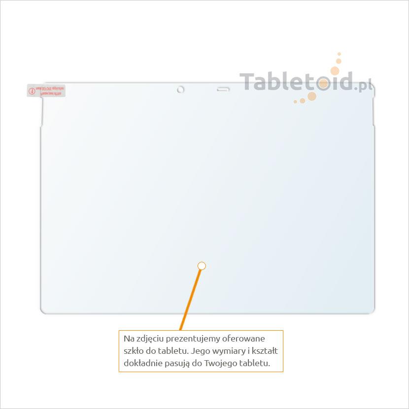 Dedykowane szkło hartowane (tempered glass) na tablet Microsoft Surface Pro 4